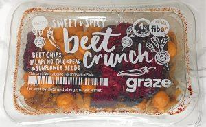 Graze Reviews - Sweet & Spicy Beet Crunch