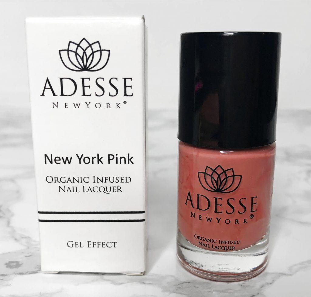 Ipsy Review - Adesse Nail Polish New York Pink