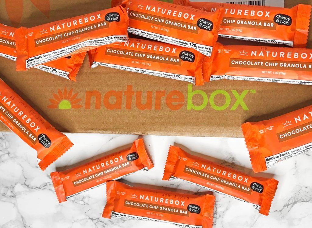 Naturebox Review - Chocolate Chip Granola Bars