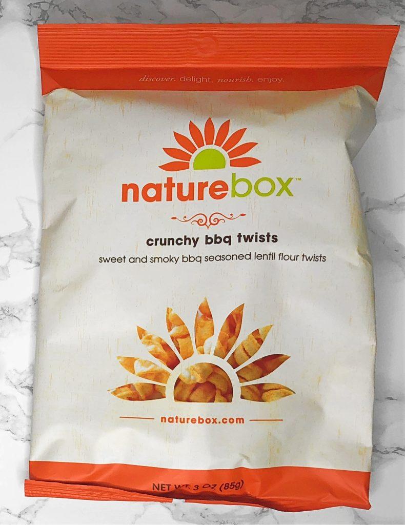 Naturebox Review - Crunchy BBQ Twists