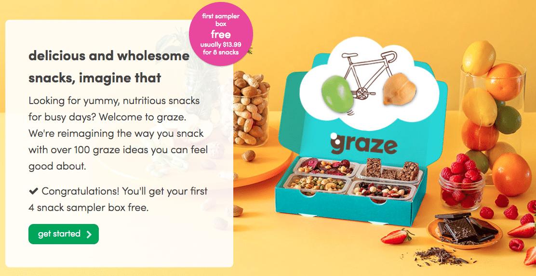 Graze Review - Free Graze Box