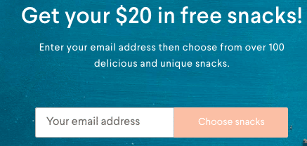 Naturebox Review - $20 Free Snacks