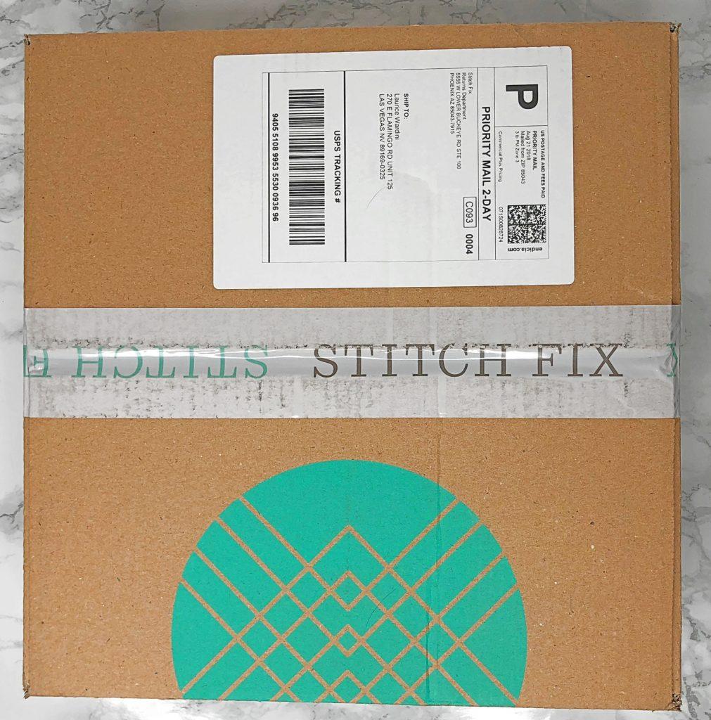Stitch Fix Review - Unboxing