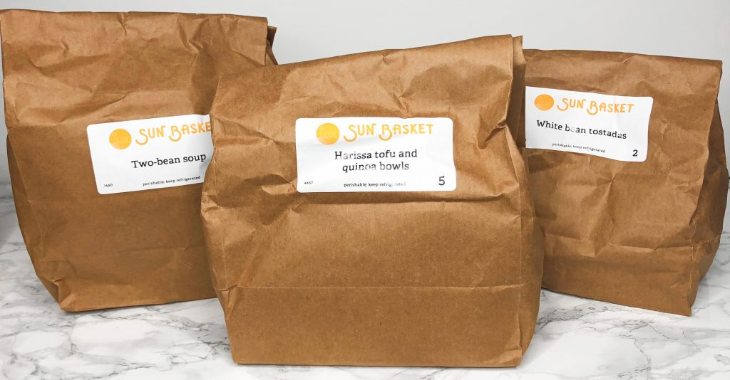 Sun Basket Review - September Meal Recipes