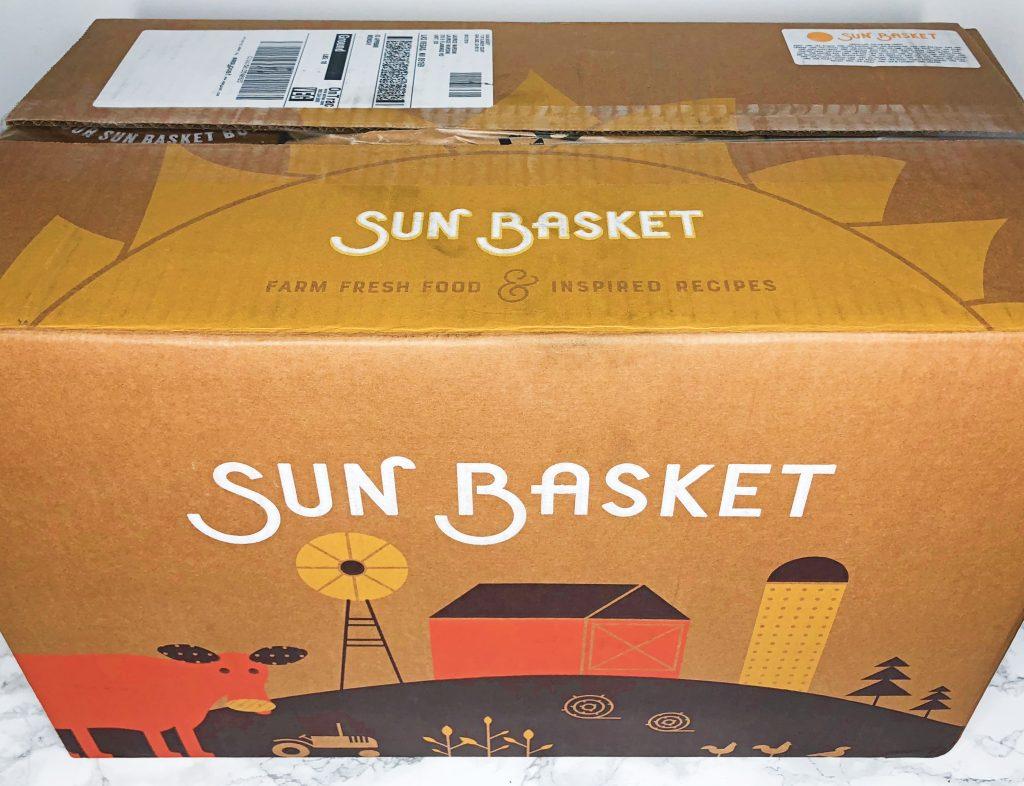 Sun Basket Review - Unboxing