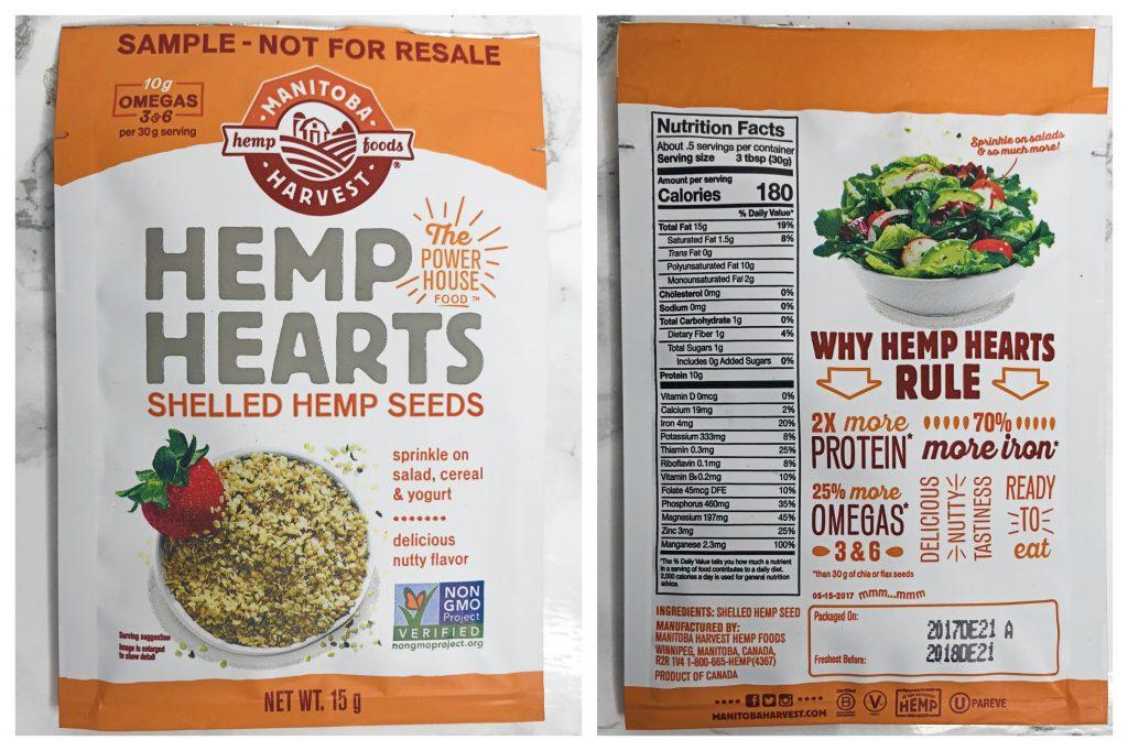 Urthbox Reviews - Hemp Hearts Hemp Seeds