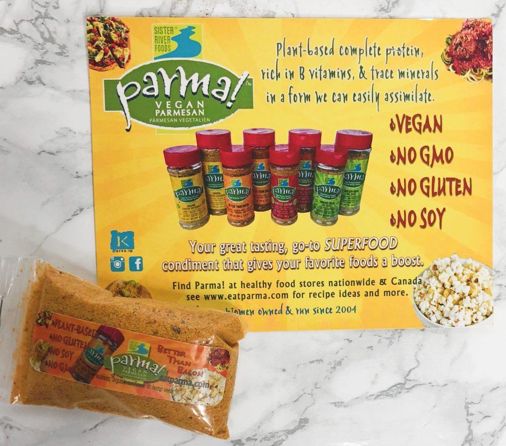 Urthbox Reviews - Parma Vegan Cheese