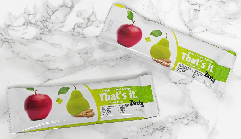 Urthbox Reviews - That's It Zesty Bars