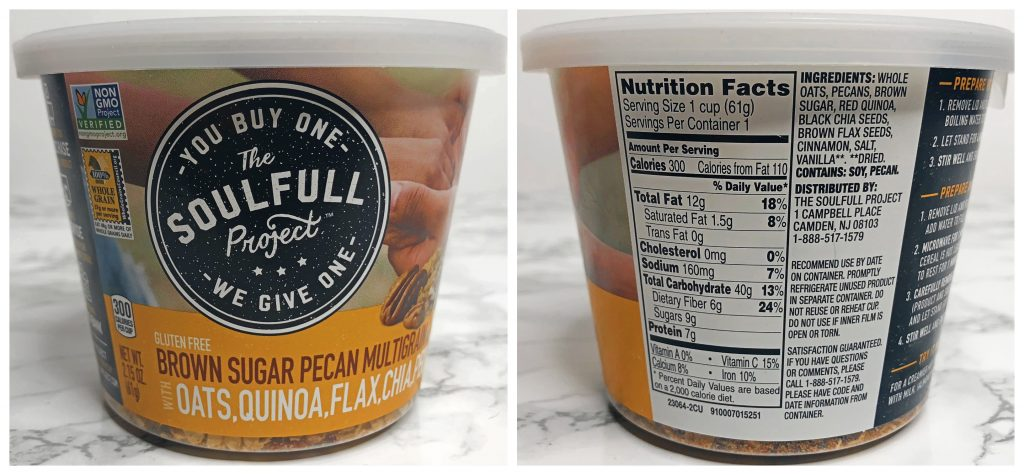 Urthbox Reviews - The Soulfull Project Multigrain Gluten-free