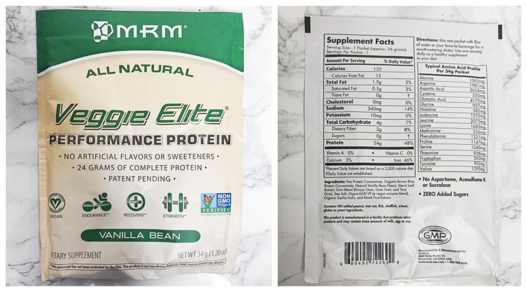 Urthbox Reviews - Veggie Elite Protein Vanilla Bean