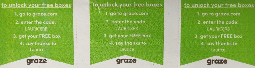 Graze Review - Free Box