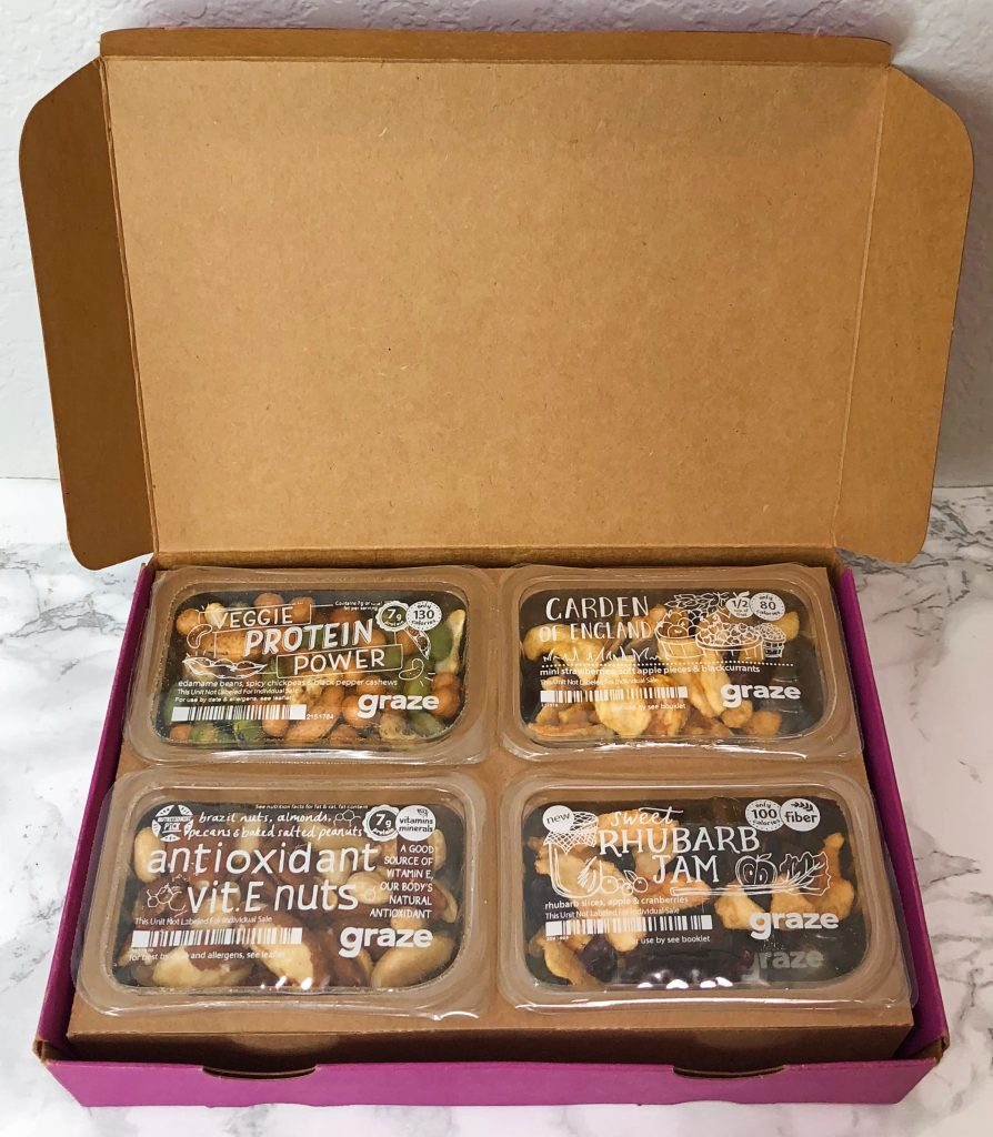 Graze Review - Unboxing