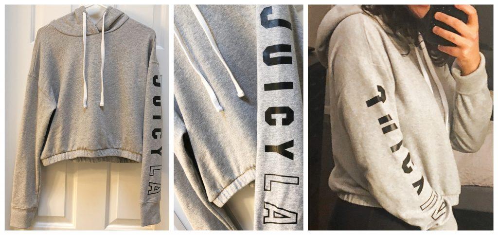 Le Tote Reviews - Juicy Couture Sweatshirt