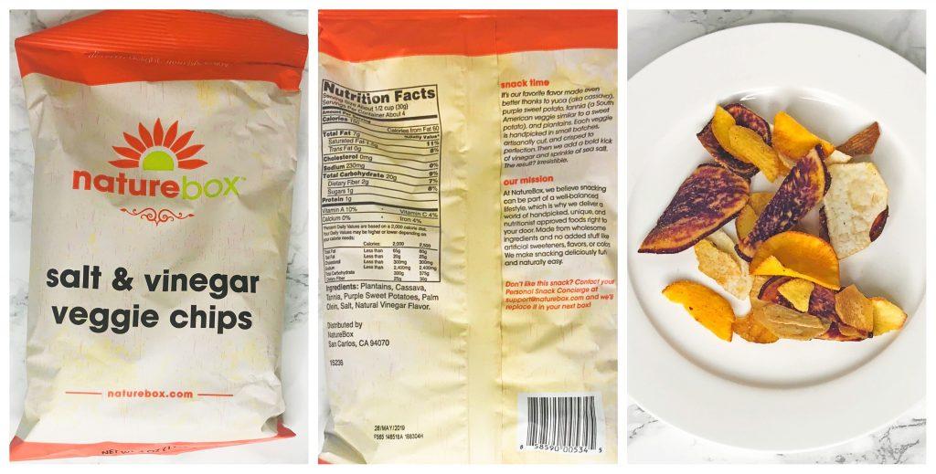 Naturebox Reviews - Salt and Vinegar Veggie Chips