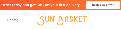 Sun Basket Reviews - 50% Off