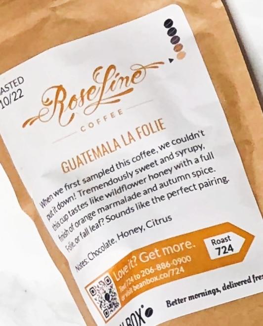 Bean Box Reviews - Guatemala La Folie
