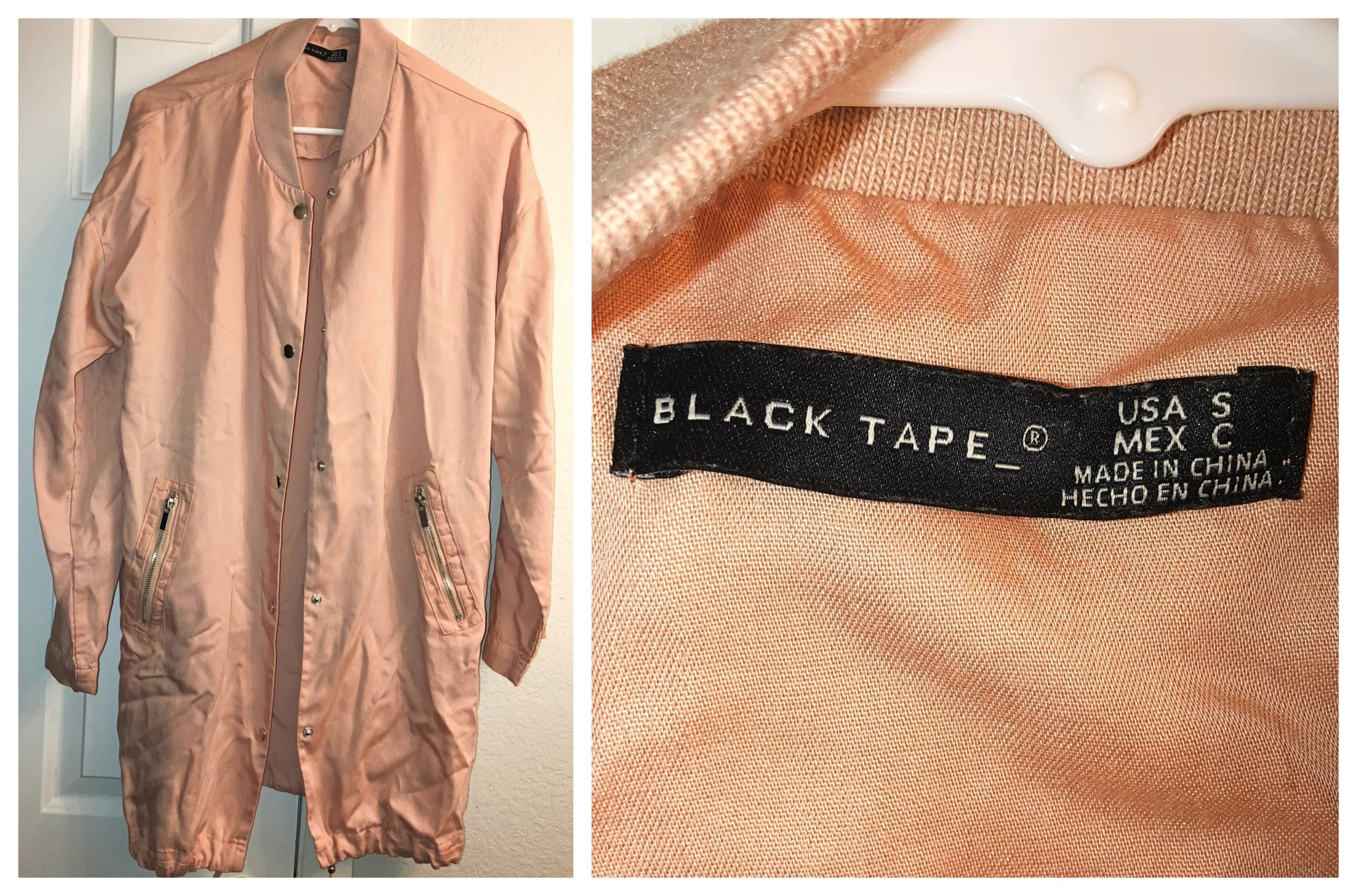 Gwynnie Bee Reviews - Black Tape Jacket