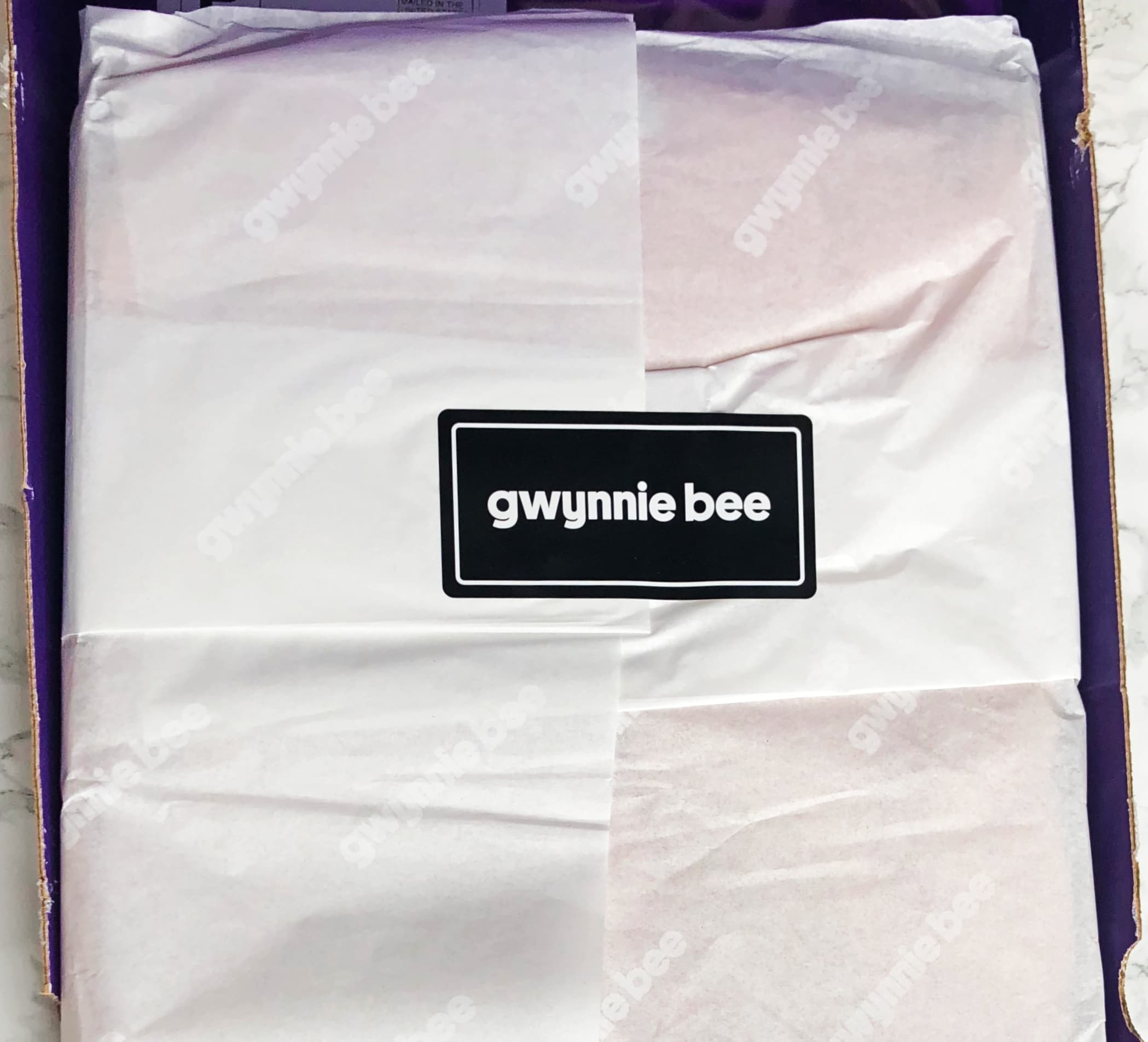 Gwynnie Bee Reviews - Unboxing