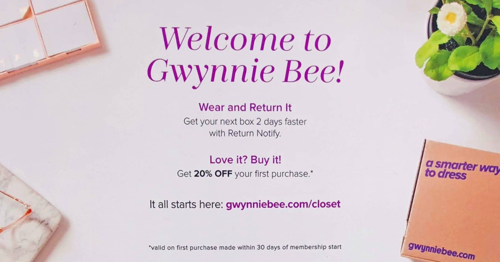 Gwynnie Bee Reviews - Welcome