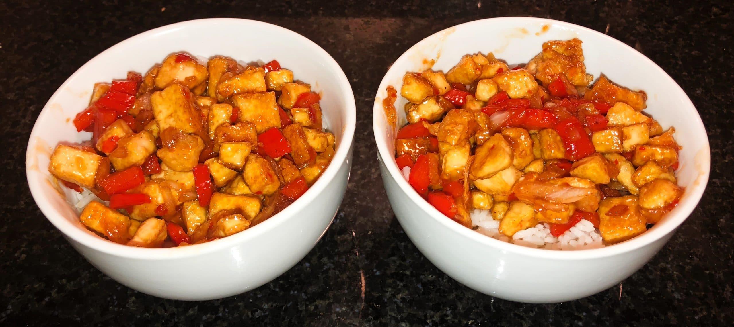 Home Chef Reviews - Sweet Chili Bowls
