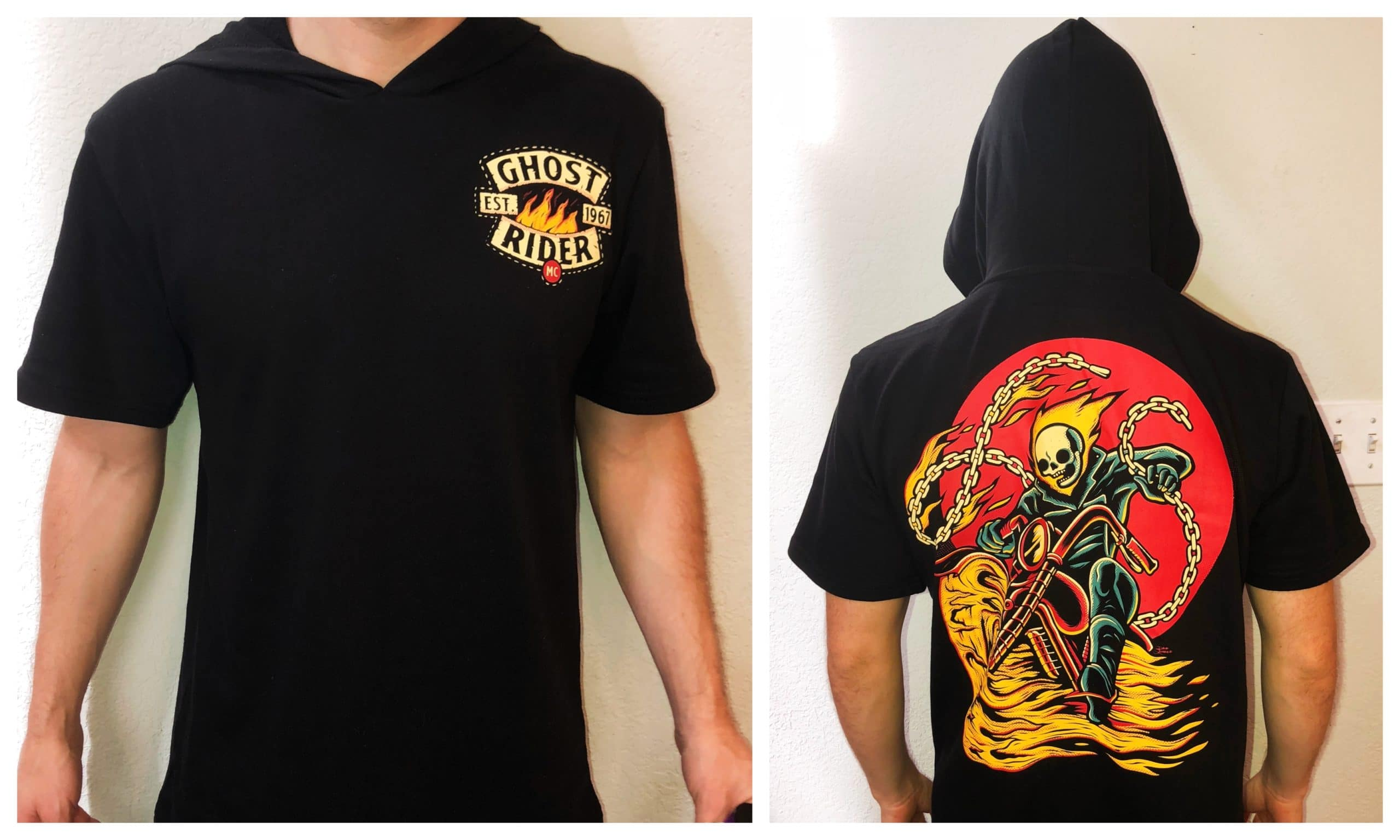 Loot Wear Reviews - Ghost Rider Shirt