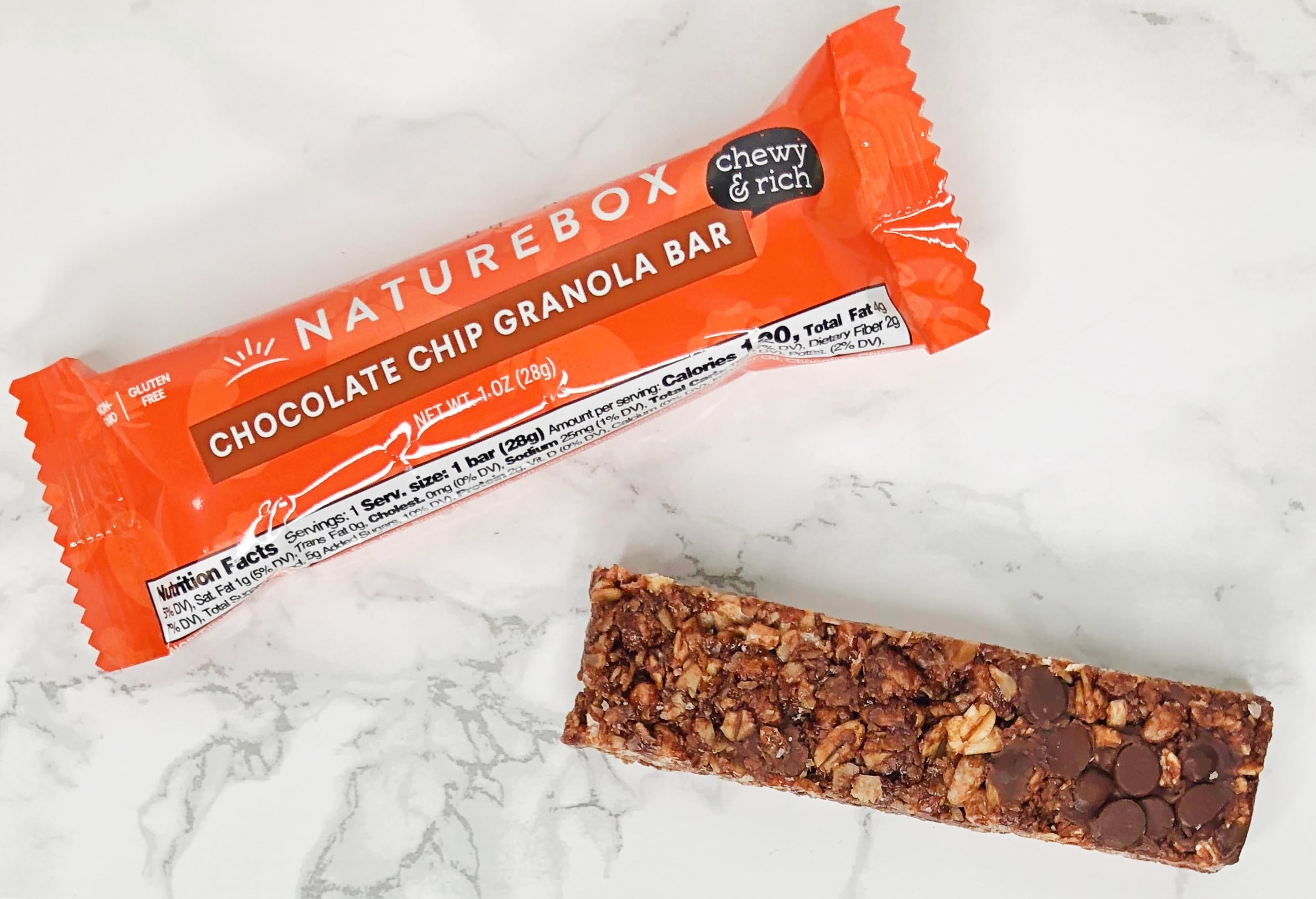 Naturebox Reviews - Granola Bar