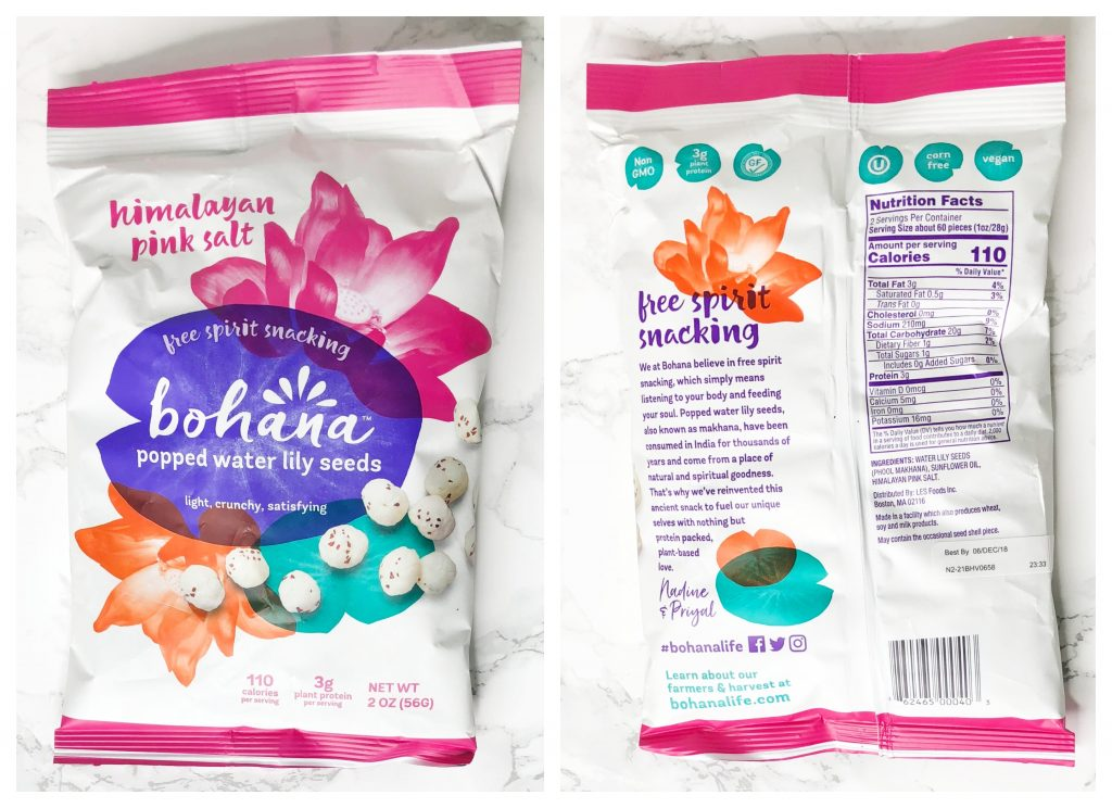 Urthbox Reviews - Bohana Popped Water Lily Seeds