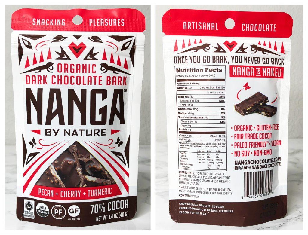 Urthbox Reviews - Nanga By Nature Chocolate Bark