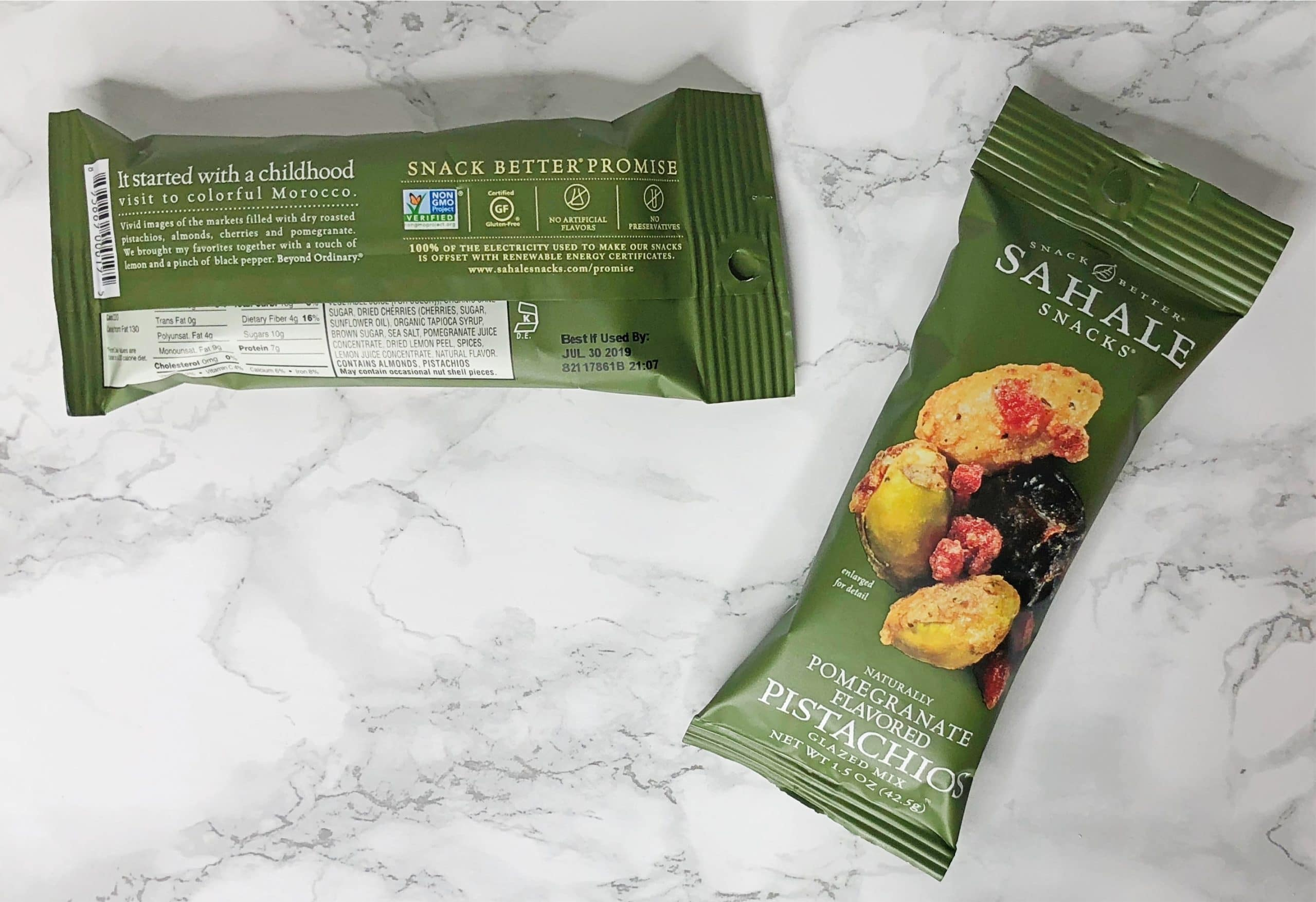 Urthbox Reviews - Sahale Pistachios