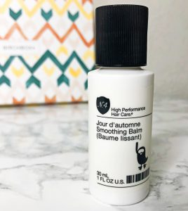 Birchbox Reviews - N4 Smoothing Balm