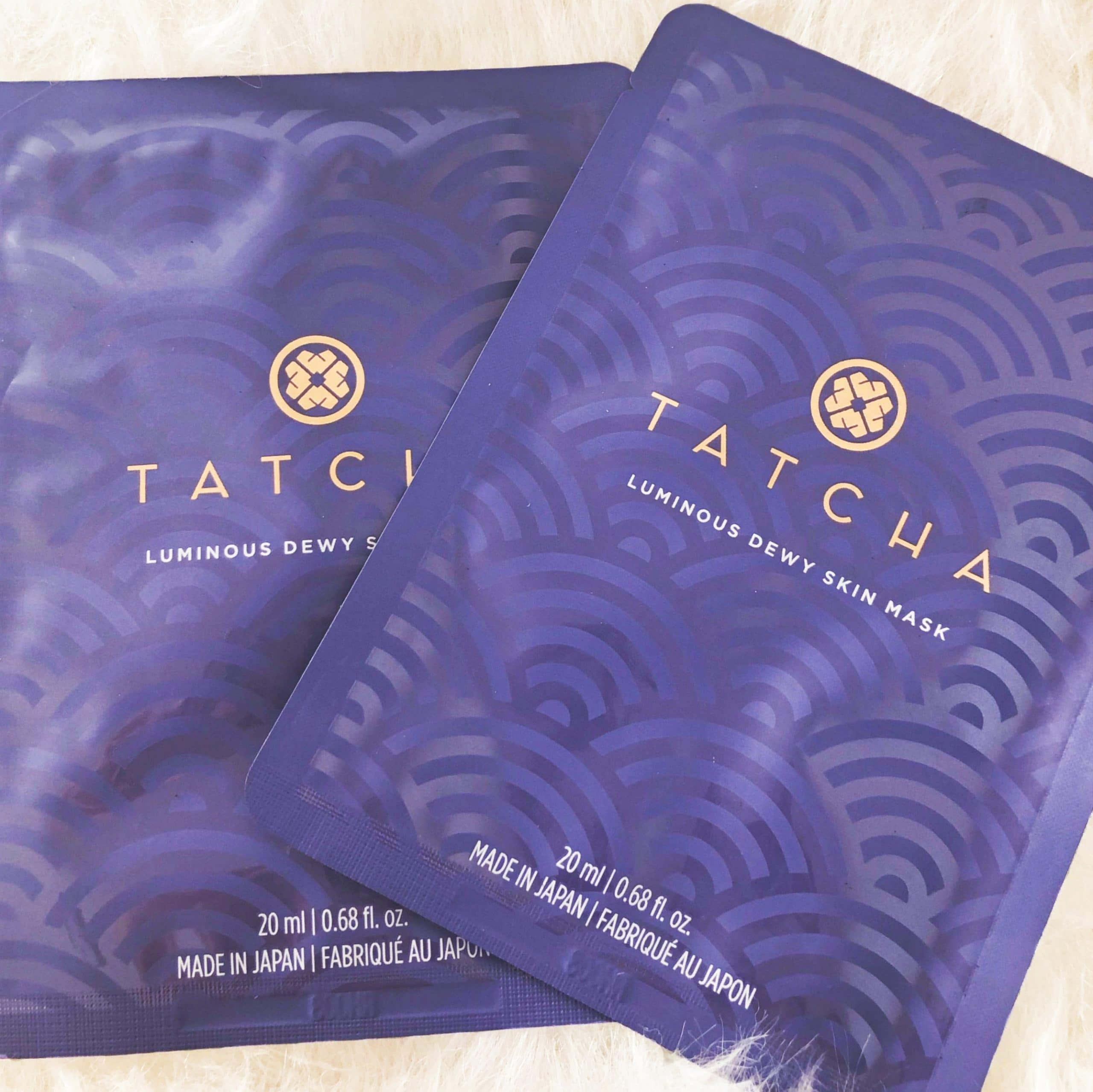 Boxycharm Tatcha Masks