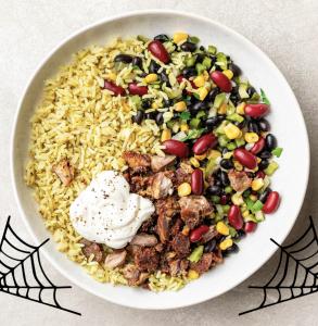 Carnitas Boo-rito Bowl from hungryroot