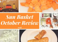 Sun Basket October 2018 Review + Recipes
